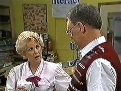 Madge Bishop, Harold Bishop in Neighbours Episode 1199