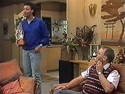 Eddie Buckingham, Harold Bishop in Neighbours Episode 1200