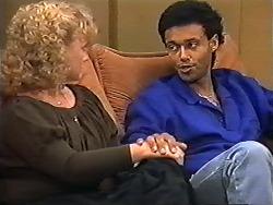 Sharon Davies, Eddie Buckingham in Neighbours Episode 1200