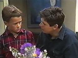 Toby Mangel, Joe Mangel in Neighbours Episode 1200