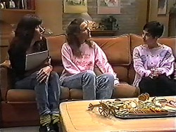Rowena, Dawn, Kerry Bishop in Neighbours Episode 1200