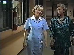 Nurse Radcliffe, Helen Daniels in Neighbours Episode 1200