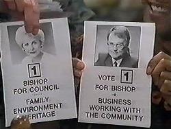 Madge Bishop, Harold Bishop in Neighbours Episode 1200