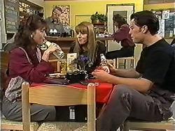 Christina Alessi, Harold Bishop, Melanie Pearson, Matt Robinson in Neighbours Episode 1201