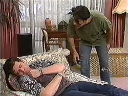Des Clarke, Matt Robinson in Neighbours Episode 1201