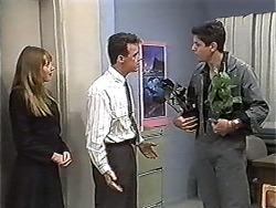 Melanie Pearson, Paul Robinson, Joe Mangel in Neighbours Episode 1201