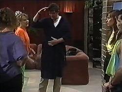Leone, Melanie Pearson, Des Clarke, Janelle in Neighbours Episode 1201