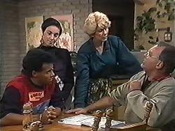 Eddie Buckingham, Kerry Bishop, Madge Bishop, Harold Bishop in Neighbours Episode 1201