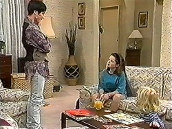 Kerry Bishop, Lochy McLachlan, Sky Mangel in Neighbours Episode 1202