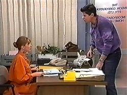 Melanie Pearson, Joe Mangel in Neighbours Episode 1202