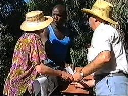 Madge Bishop, Angry Man, Harold Bishop in Neighbours Episode 1202