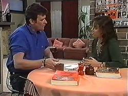 Des Clarke, Christina Alessi in Neighbours Episode 1202