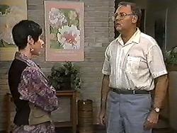 Kerry Bishop, Harold Bishop in Neighbours Episode 1203