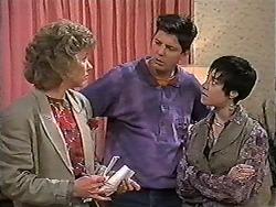Beverly Robinson, Joe Mangel, Kerry Bishop in Neighbours Episode 1203