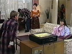 Toby Mangel, Kerry Bishop, Natasha Kovac in Neighbours Episode 1203