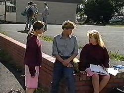 Brenda, Ryan McLachlan, Sharon Davies in Neighbours Episode 1203