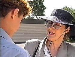 Ryan McLachlan, Dorothy Burke in Neighbours Episode 1203