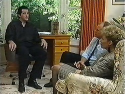 Quentin (Marriage Guidance Counsellor), Jim Robinson, Beverly Robinson in Neighbours Episode 1203