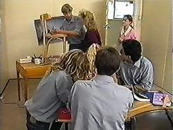 Ryan McLachlan, Sharon Davies, Brenda in Neighbours Episode 1203