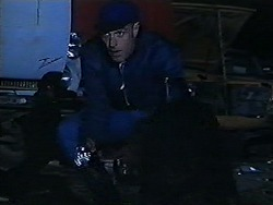 Security Guard in Neighbours Episode 1204