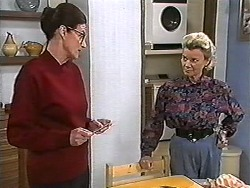 Dorothy Burke, Helen Daniels in Neighbours Episode 1205