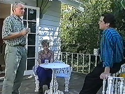 Jim Robinson, Beverly Marshall, Quentin (Marriage Guidance Counsellor) in Neighbours Episode 1205