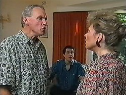 Jim Robinson, Quentin (Marriage Guidance Counsellor), Beverly Marshall in Neighbours Episode 1205