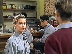 Melissa Jarrett, Josh Anderson, Todd Landers in Neighbours Episode 1207