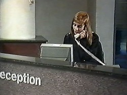 Receptionist in Neighbours Episode 1207