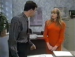 Paul Robinson, Melanie Pearson in Neighbours Episode 1207