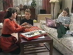 Natasha Kovac, Toby Mangel, Lochy McLachlan in Neighbours Episode 1208