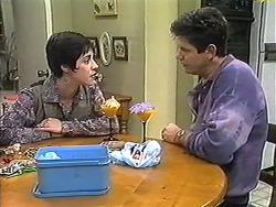 Kerry Bishop, Joe Mangel in Neighbours Episode 1208