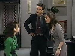 Christina Alessi, Paul Robinson, Caroline Alessi in Neighbours Episode 1208