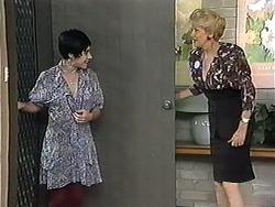 Kerry Bishop, Madge Bishop in Neighbours Episode 1208