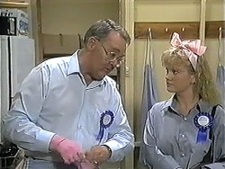 Harold Bishop, Sharon Davies in Neighbours Episode 1208