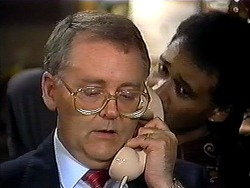 Harold Bishop, Eddie Buckingham in Neighbours Episode 1210