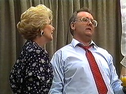 Madge Bishop, Harold Bishop in Neighbours Episode 1210