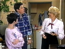Kerry Bishop, Joe Mangel, Madge Bishop in Neighbours Episode 1210