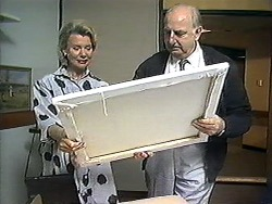 Helen Daniels, Derek Wilcox in Neighbours Episode 1210