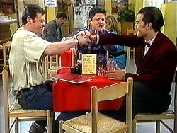 Des Clarke, Joe Mangel, Matt Robinson in Neighbours Episode 1210