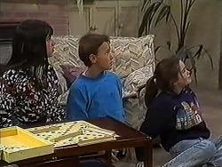 Natasha Kovac, Toby Mangel, Lochy McLachlan in Neighbours Episode 1211