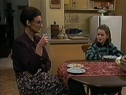 Dorothy Burke, Lochy McLachlan in Neighbours Episode 1211