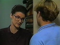 Dorothy Burke, Ryan McLachlan in Neighbours Episode 1211