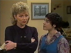 Beverly Robinson, Kerry Bishop in Neighbours Episode 1212