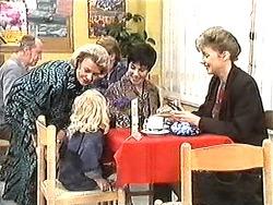 Helen Daniels, Sky Mangel, Kerry Bishop, Beverly Marshall in Neighbours Episode 1212