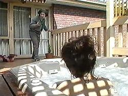 Joe Mangel, Christina Alessi in Neighbours Episode 1212