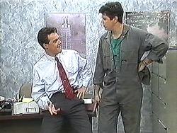 Paul Robinson, Joe Mangel in Neighbours Episode 1212