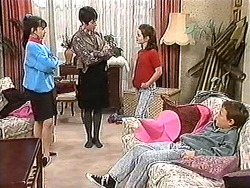 Natasha Kovac, Kerry Bishop, Lochy McLachlan, Toby Mangel in Neighbours Episode 1212