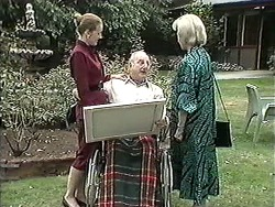 Diane Beaumont, Derek Wilcox, Helen Daniels in Neighbours Episode 1212