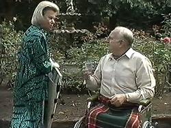 Helen Daniels, Derek Wilcox in Neighbours Episode 1213